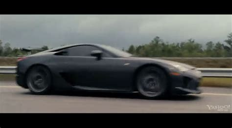 lexus lfa fast five lexus lfa spotted in fast furious trailer