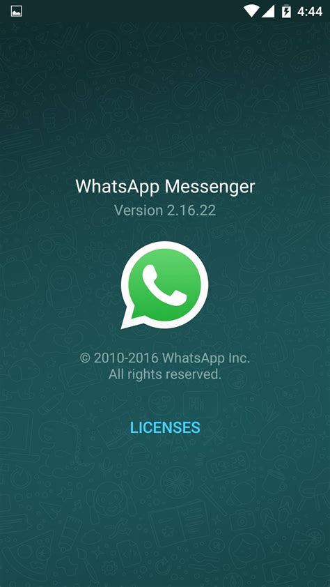 whatsapp messenger apk file free whatsapp 2 16 22 apk brings new shortcuts select chats