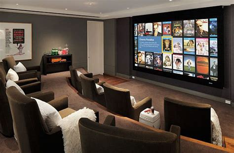 home cinema room design tips basement home theater design ideas for your modern home