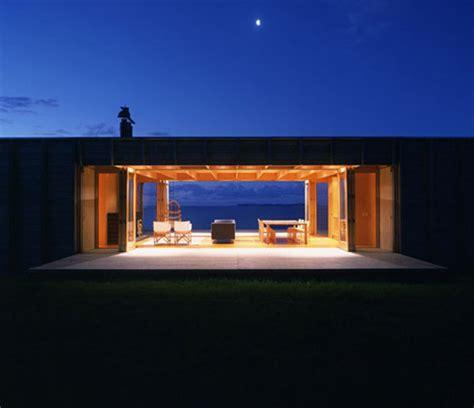 house see through seaside secret simple shack see through beach house
