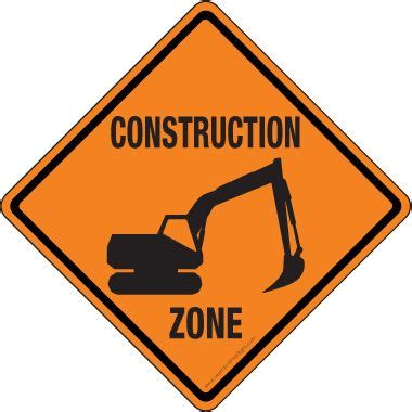 large printable road signs printable construction signs pictures clipart best