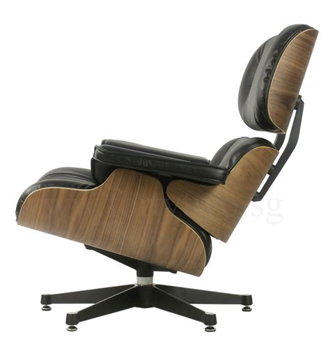 Black Eames Lounge Chair by Designer Replica Eames Lounge Chair Black Furniture