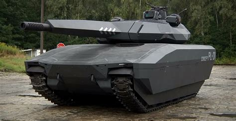 tank the the pl 01 stealth tank is as absurdly cool as a lamborghini autoevolution