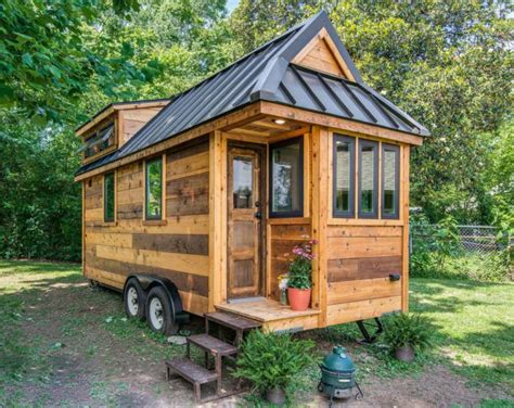 cedar mountain tiny house affordable option from new frontier tiny house blog