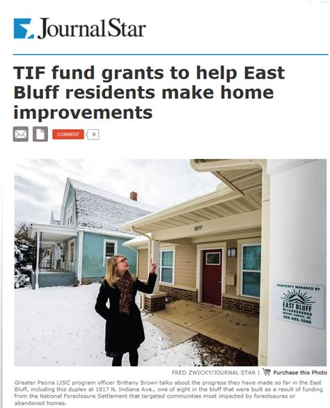 teska associates inc tif fund grants to help east