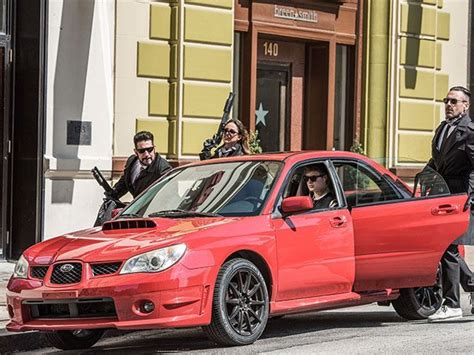 exclusive why baby driver used a subaru as the stunt car