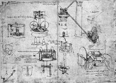 Kitchen Gun Sketch Leonardo Da Vinci The Artist And Engineer