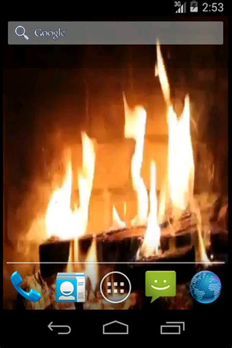 real fireplace live wallpaper android apps on play