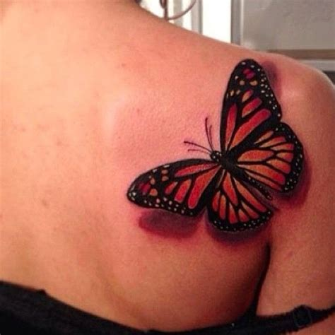butterfly tattoo playing peekaboo on your back 100 lovely butterfly with realistic 3d butterfly in