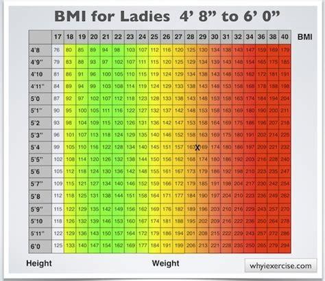 bmi table for men body mass index chart men