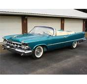1959 CHRYSLER IMPERIAL CONVERTIBLE  45032