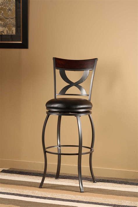 distressed wood swivel bar stools hillsdale stockport swivel bar stool with distressed