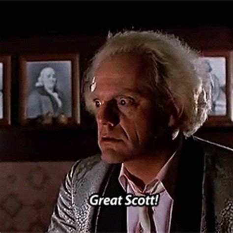 Great Scott Meme - backtothefuturemovies backtothefuturemovies