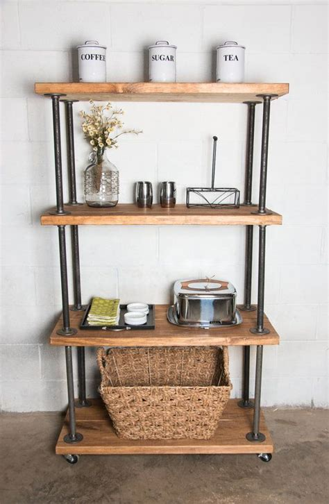 best 25 industrial bookshelf ideas on pipe