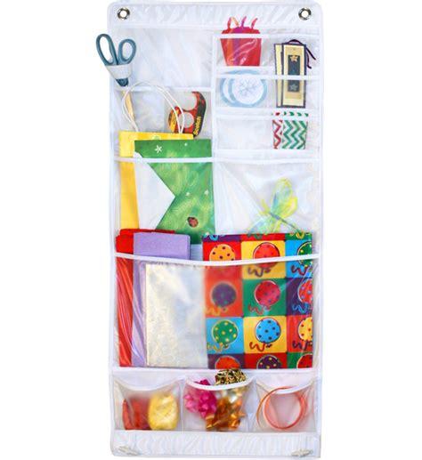 door gift wrap organizer hanging gift wrap storage in gift wrap organizers