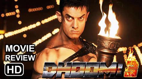 Dhoom3 2013 Full Movie Dhoom 3 Movie Review Aamir Khan Recreates Magic Youtube