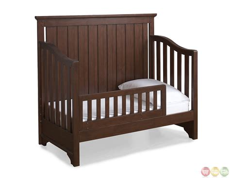 convertible crib dawsons ridge heirloom cherry convertible crib