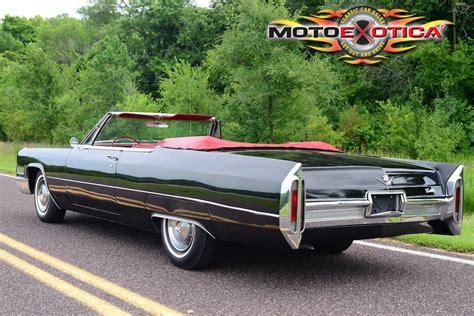 1966 Cadillac Convertible by 1966 Cadillac Convertible Motoexotica Classic