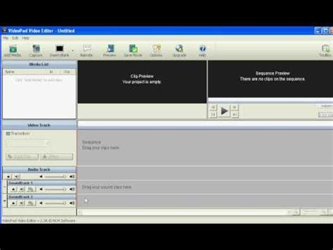 videopad software tutorial how to use videopad video editor editing videopad software
