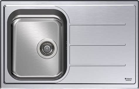 lavello ariston lavello cucina ariston hotpoint sc 79w1 x ha 1 vasca inox