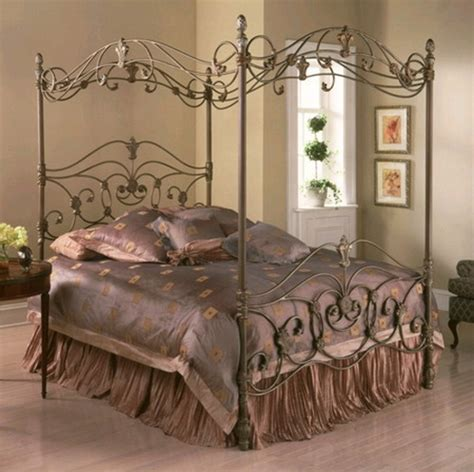 bedroom ideas with metal beds luxury metal bed frame with canopy for bedroom furniture