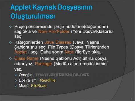 Javada Layout Nedir | java applet temelleri netbeans idesi 220 zerinden applet