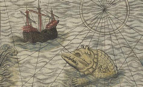 sea monsters on medieval sea monsters on medieval maps brainiac