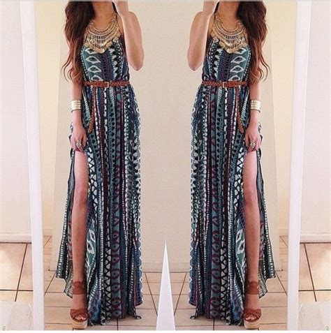 tribal pattern dress dress long dress summer dress summer outfits tribal