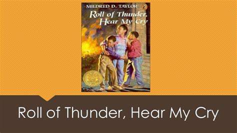 Pdf Roll Thunder Hear My Cry Read 5 And 6 by Taylirre Mack Roll Of Thunder Hear My Cry
