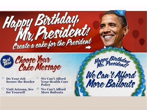 Obama Birthday Card by Happy Birthday President Obama Us Message Board