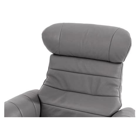 Enzo Gray Leather Swivel Chair El Dorado Furniture Enzo Swivel Chair