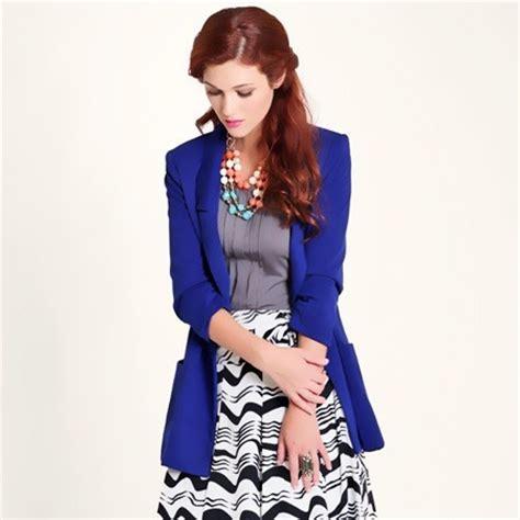 cute pattern blazers blue blazer outfit ideas fashion cute blazer bluetent