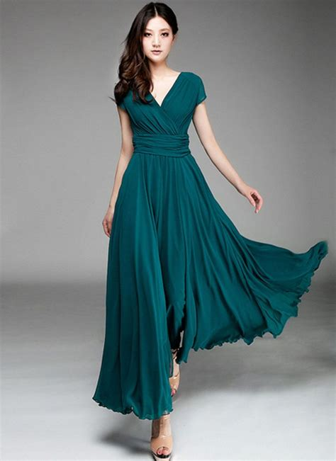 25 best ideas about teal maxi dresses on