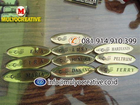 Nama Dada Name Tag Kuningan Resin Peniti Produk 10 papan nama dada nama dada papan nama name tag papan nama magnet pesan name tag lencana
