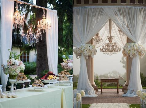 table drapes for weddings 8 gorgeous pipe drape wedding backdrops bridalpulse