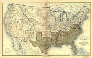 us map in the civil war places in american civil war history maps depicting