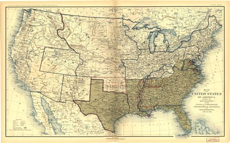 maps of war places in american civil war history maps depicting prologue to war and secession march 1861