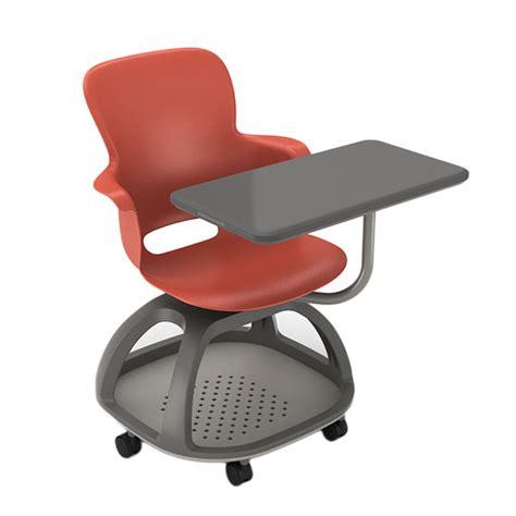 Node School Desk by Haskell Ethos Series Mobile Chair Desk Schoolsin