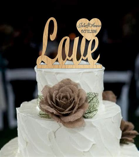 Wedding Cake With Name by Wedding Cake Topper Topper With Date And Names