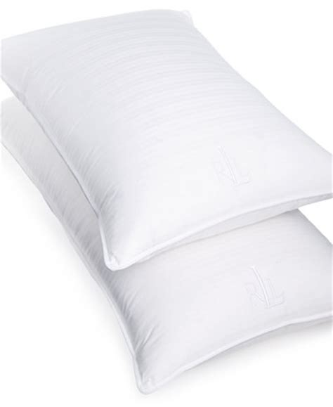 ralph lauren bed pillows lauren ralph lauren trilogy standard pillow pillows