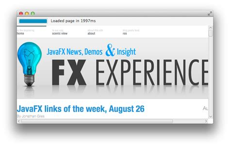 javafx trigger layout how to find the exact time to completely load an web page