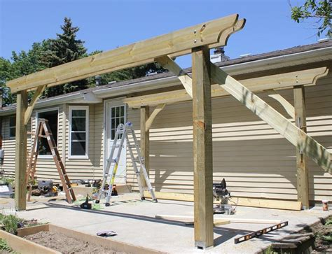 build my home free plans to build free standing pergola plans diy pdf