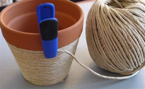 how to decorate pot at home diy beachy twine wrapped flower pot pumps iron