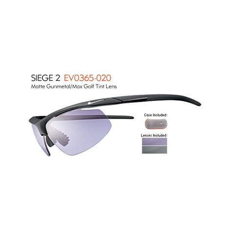 nike siege nike siege 2 e sunglasses engineered for golf