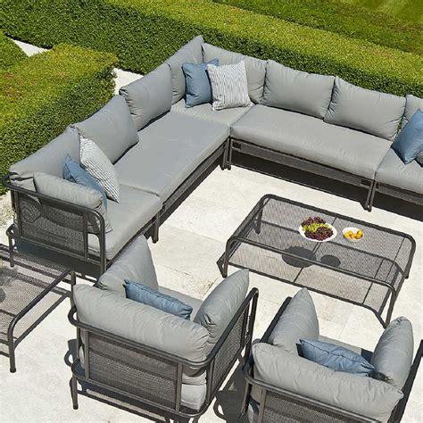 marques de canap駸 de luxe coin modulable de canap 233 de jardin haut de gamme en acier