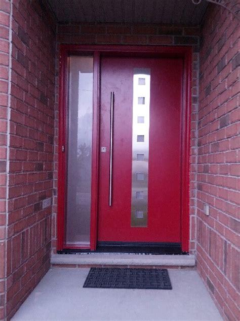 fiberglass doors modern front entry door system