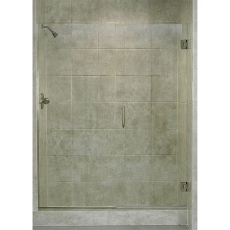 28 Shower Door Coastal Industries Paragon Series 28 Quot X 72 Quot Hinged Frameless Swing Shower Door Reviews