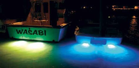 red and white boat lights shadow caster underwater led lights 10 led s uledl10