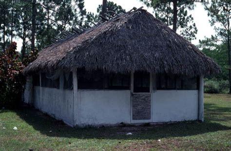 Chickee Hut Florida Memory Seminole Indian Chickee Hut At The Big