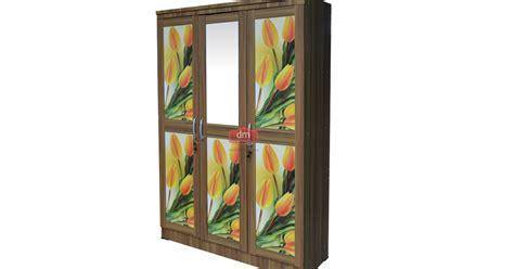 Kasur Trueland lemari pakaian 3 pintu tulip rp 725 000 dm mebel jogja